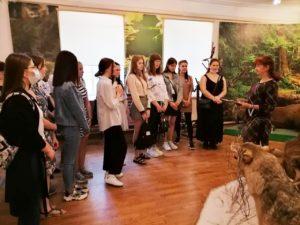 Студенты Центра СПО ЕГУ им. И.А. Бунина в нашем музее