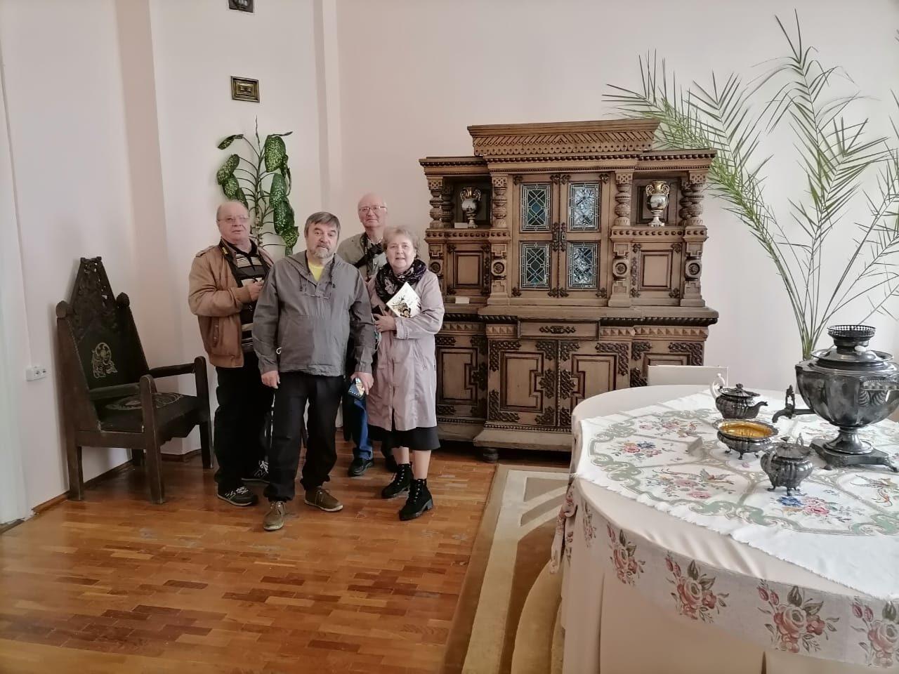 Гости из Нью-Йорка и Москвы