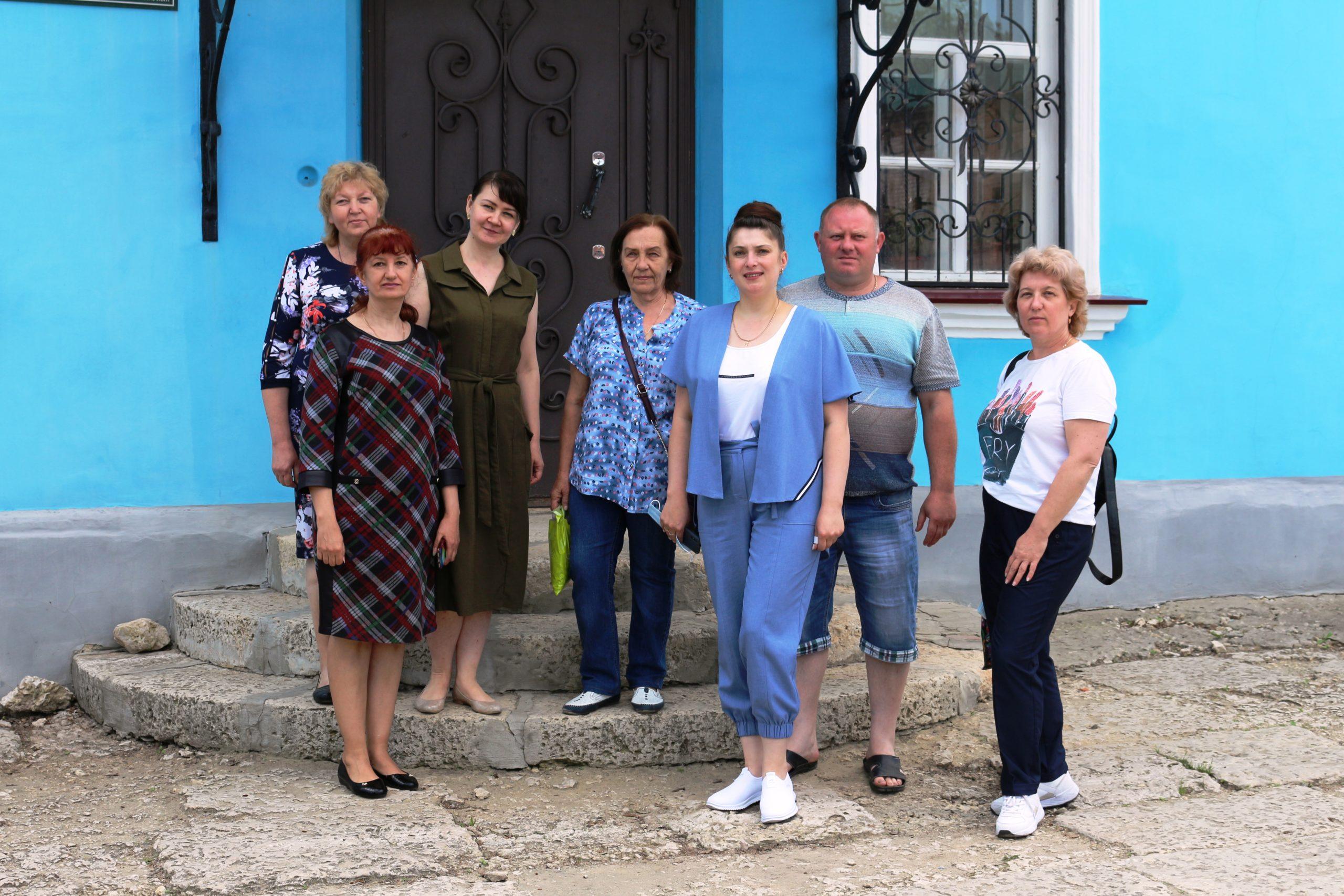Гости из Усманского краеведческого музея