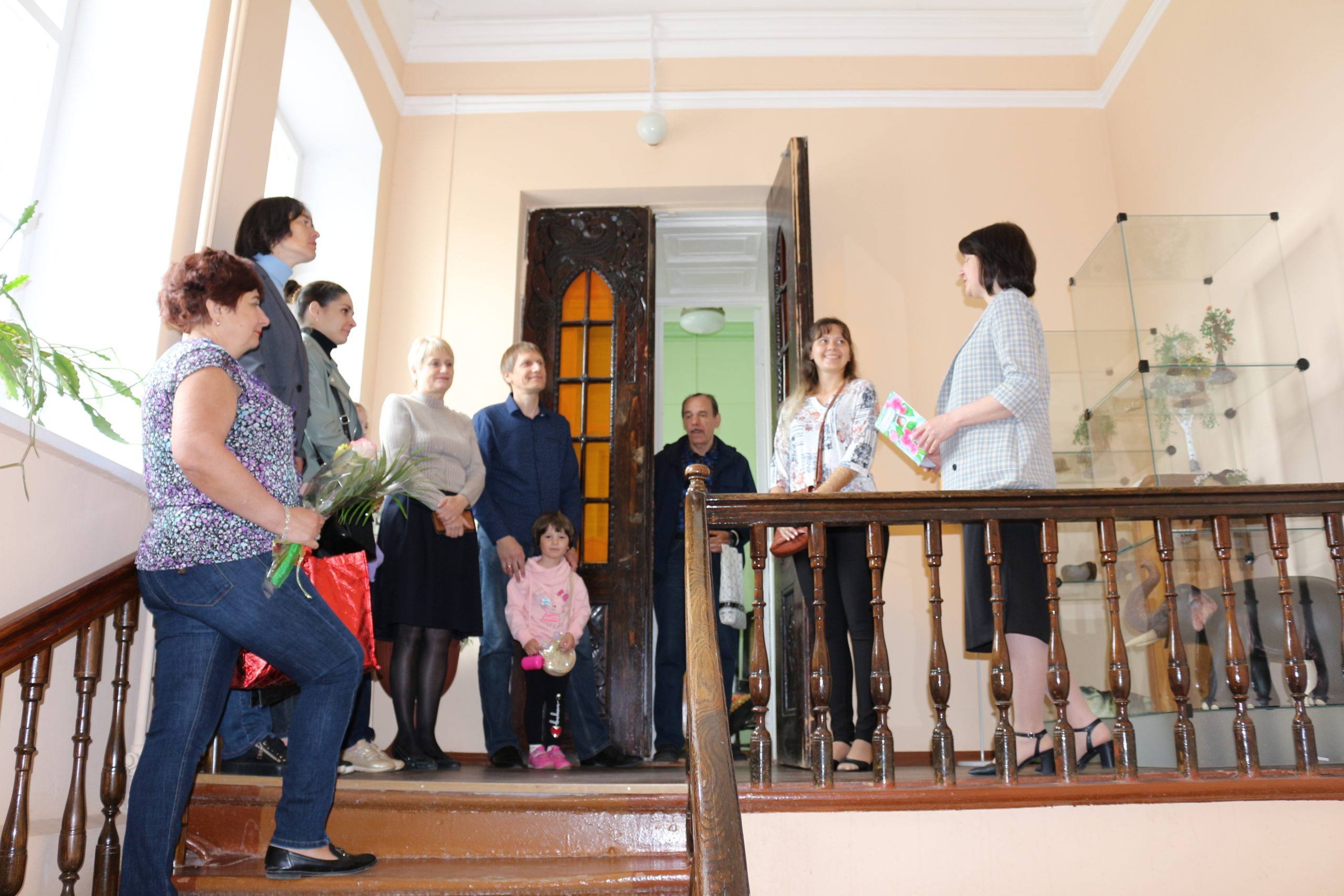 Открытие выставки «Волшебный мир рукоделия»