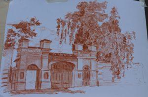Рисуем дом купца А.Н. Заусайлова