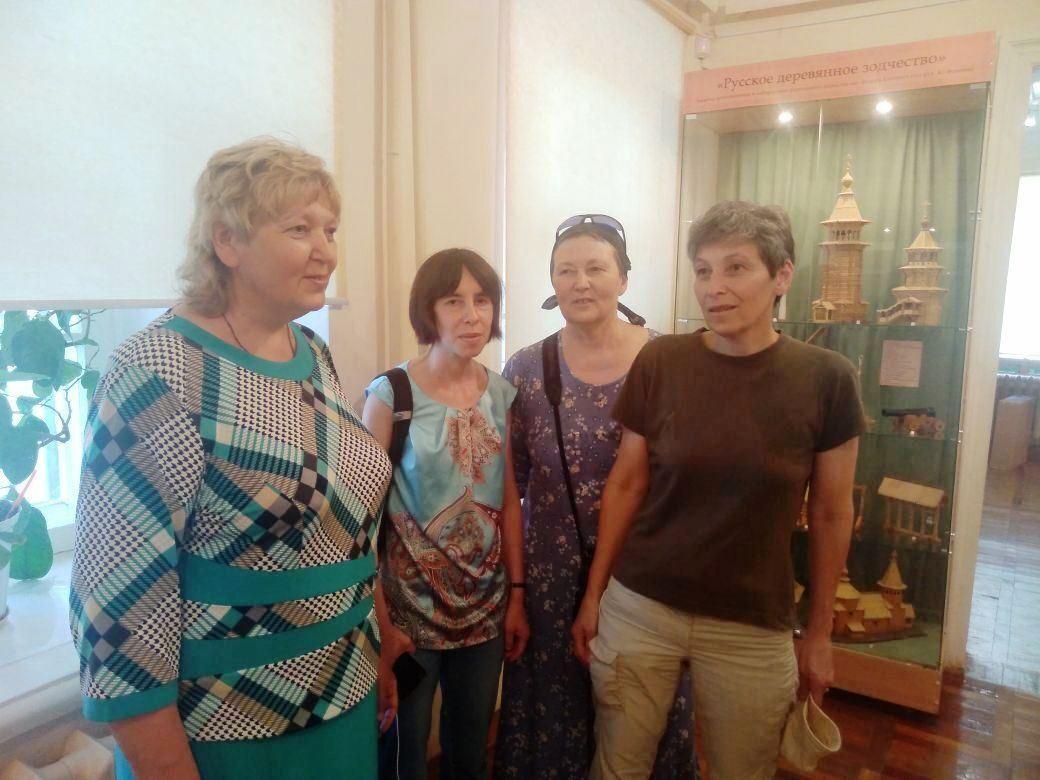 Музей знакомит родственников художника Н.Н. Жукова
