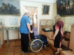 Музей доступен для людей с ограниченными возможностями