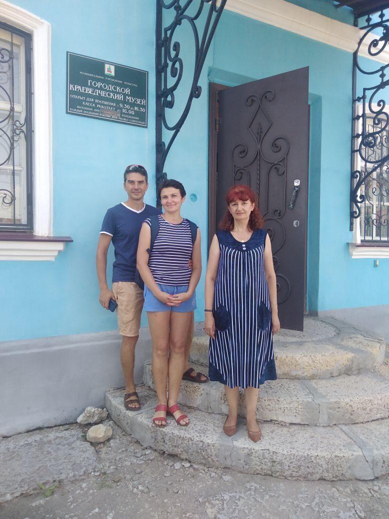 Туристы из Москвы