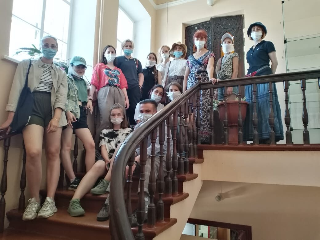 Сотрудничество музея с Академией акварели и изящных искусств имени Сергея Андрияки