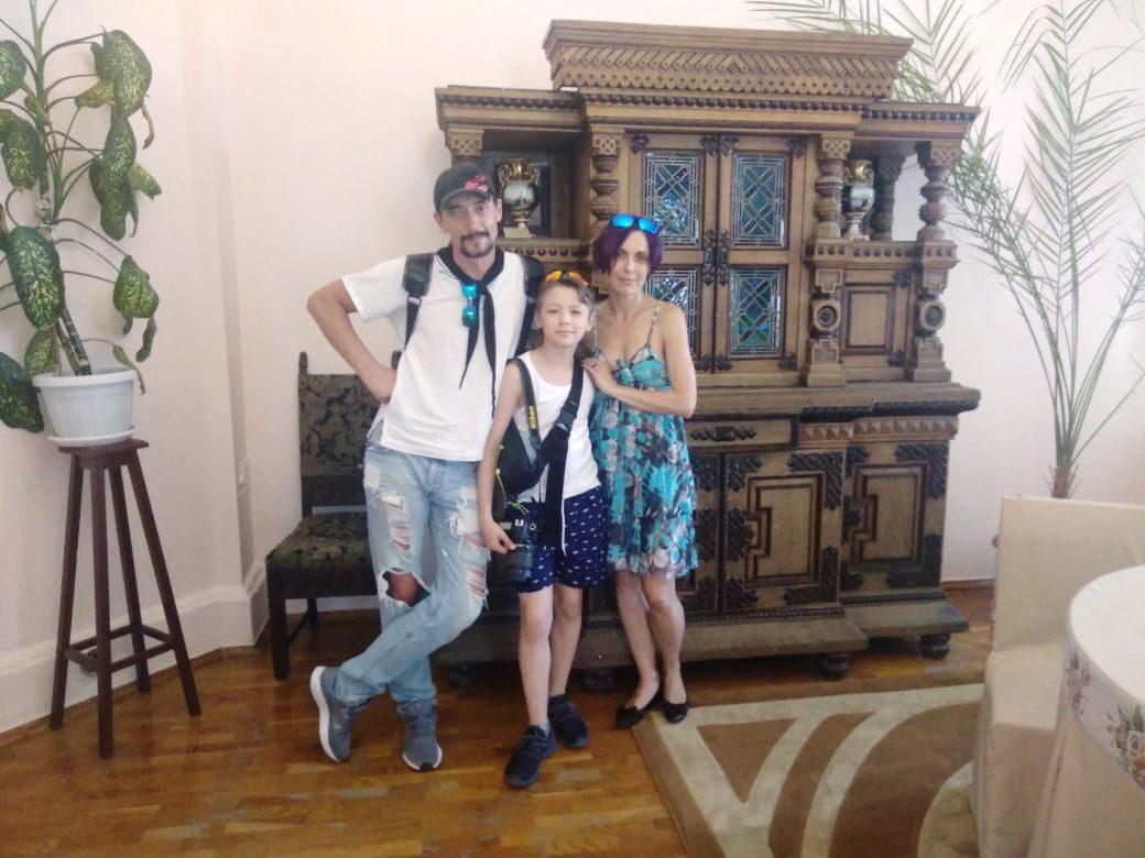 Актеры из Москвы в гостях у музея
