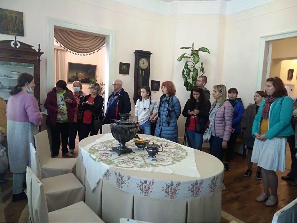 Сотрудники Белгородского государственного музея народной культуры у нас в гостях