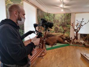 Видеоматериалы о музее в экспозиции ж/д вокзала Ельца