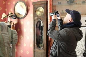Фотоматериалы о музее в экспозиции ж/д вокзала Ельца